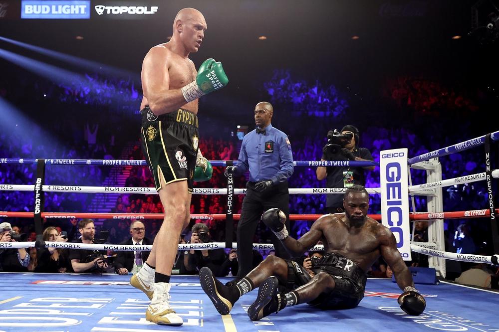 Tyson Furycó chiến thắng thuyết phục trướcDeontay Wilderở trận đấu hồi tháng 2 vừa qua.