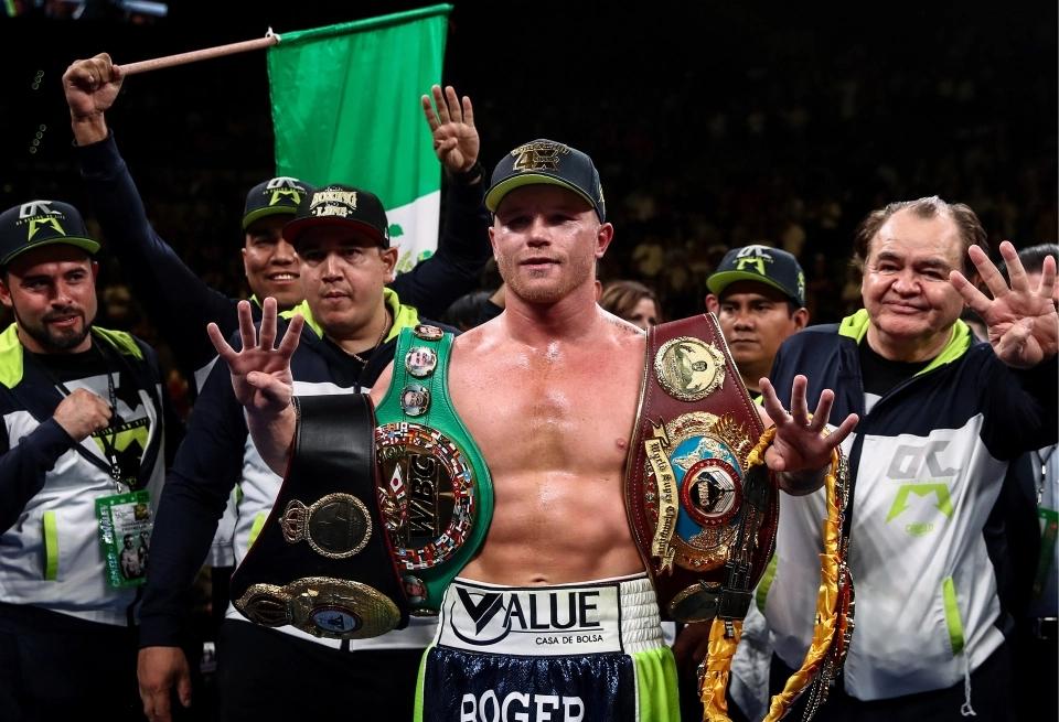 NhưngCanelo Alvarez mới là võ sĩ kiếm được nhiều nhất từ 1 trận đánh.