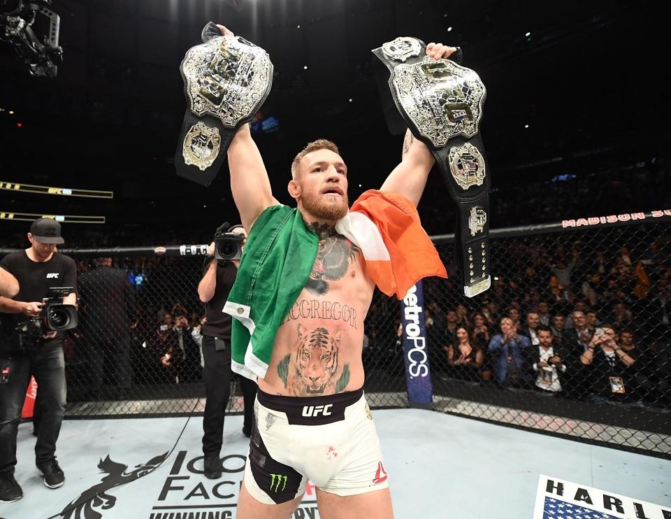 Conor McGregor là ngôi sao UFC.
