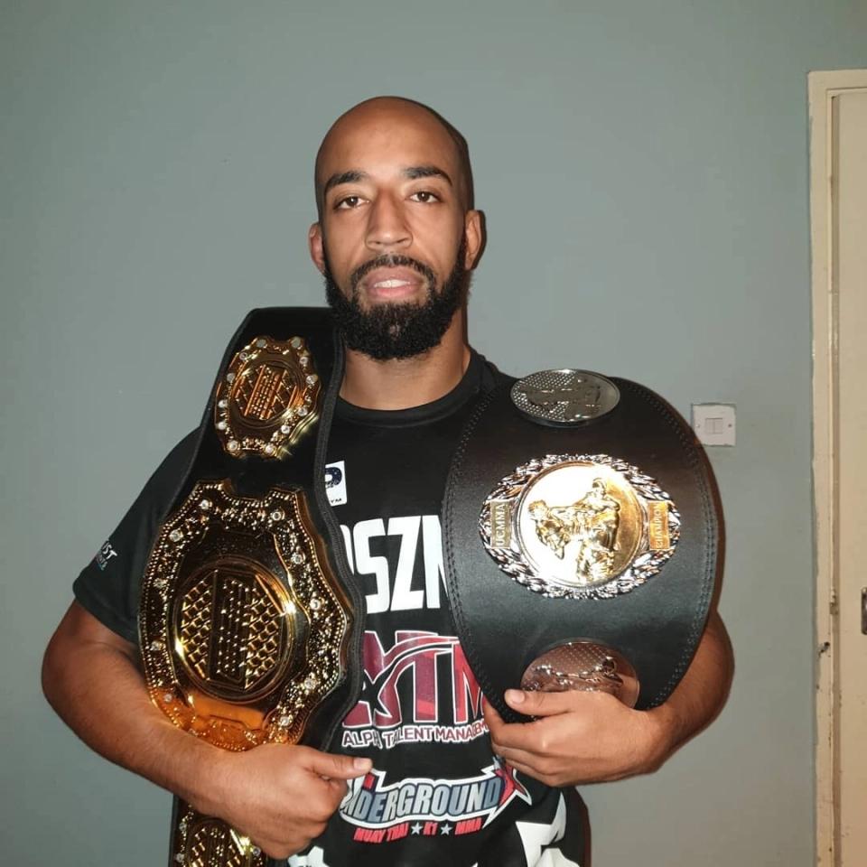 Jahreau Shepherd là ngôi sao MMA đang lên.