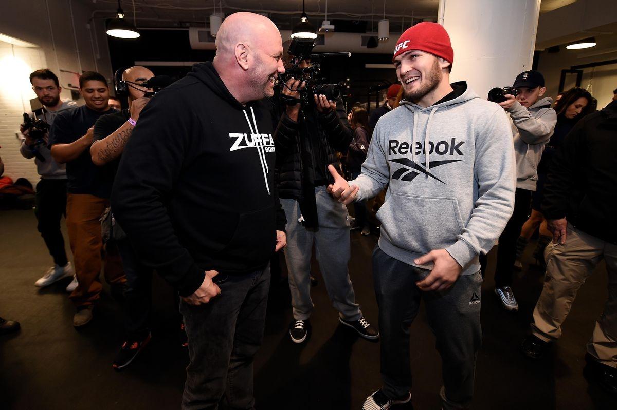 Chủ tịch UFC Dana White sẽ chiều ýKhabib.