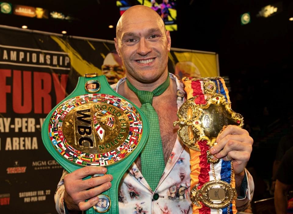 Tyson Fury là võ sĩ kiếm nhiều tiền nhất trong năm tài chính vừa qua.