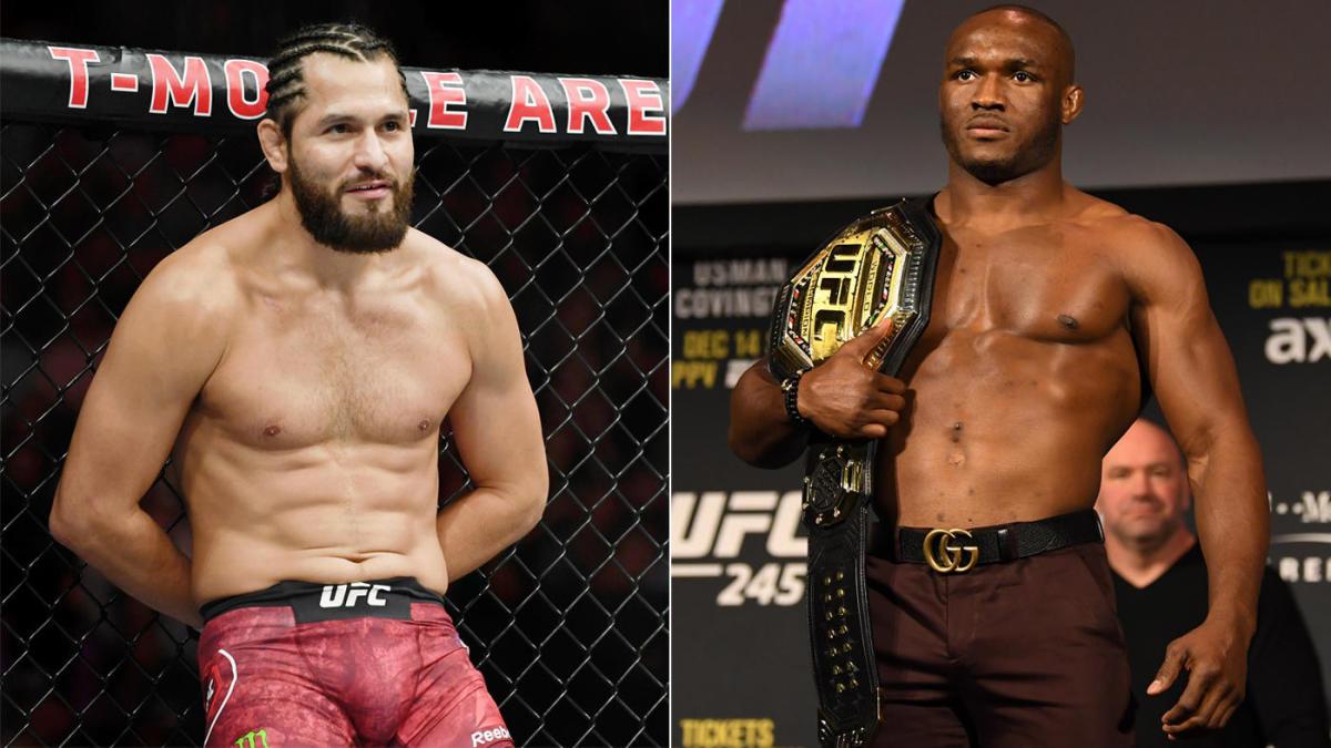 Jorge Masvidal vàKamaru Usman sẽ tranh chiếc đai hạng cân bán trung UFC.