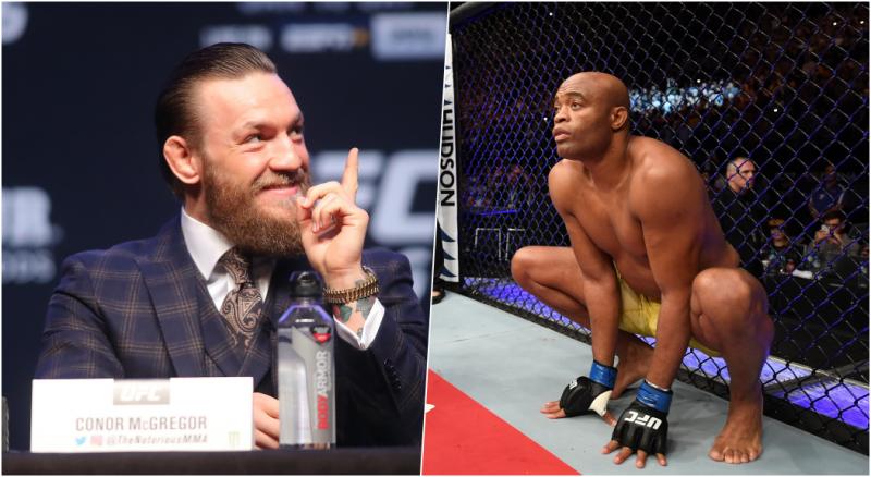 Anderson Silva vàConor McGregor đạt thỏa thuận 1 siêu trận đấu nhưng UFC không đồng ý.