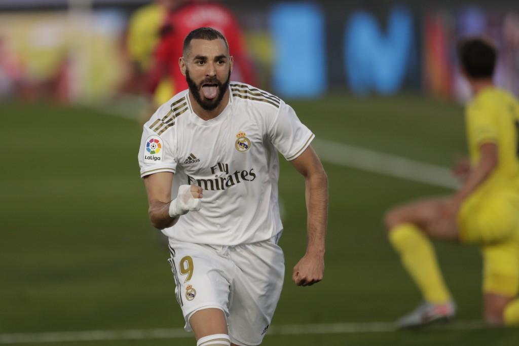 Karim Benzema là đầu tàu trên hàng công củaReal Madrid mùa này.