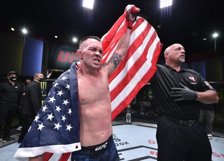 Colby Covington giành chiến thắng trước Tyron Woodley ở UFC Vegas 11.