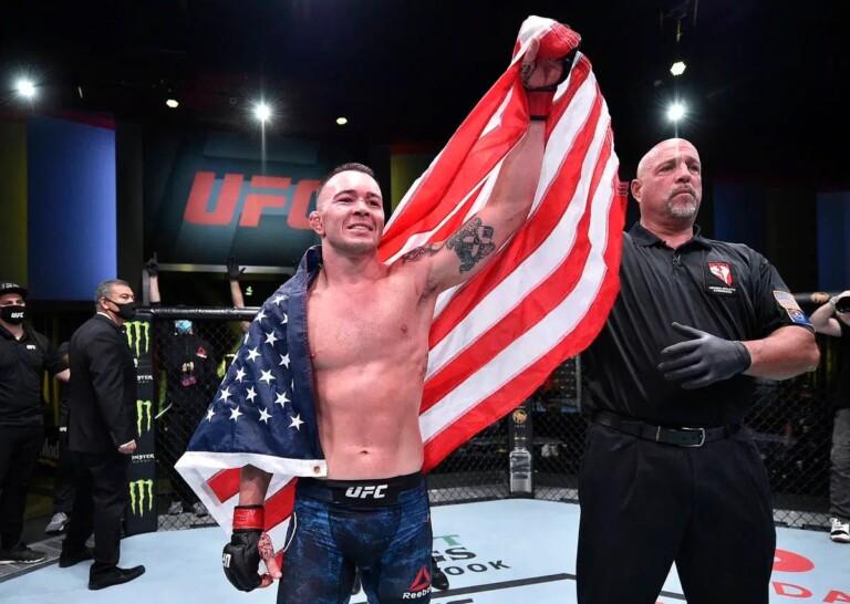 Colby Covington vừa có chiến thắng knockout trước Tyron Woodley tại UFC Vegas 11.