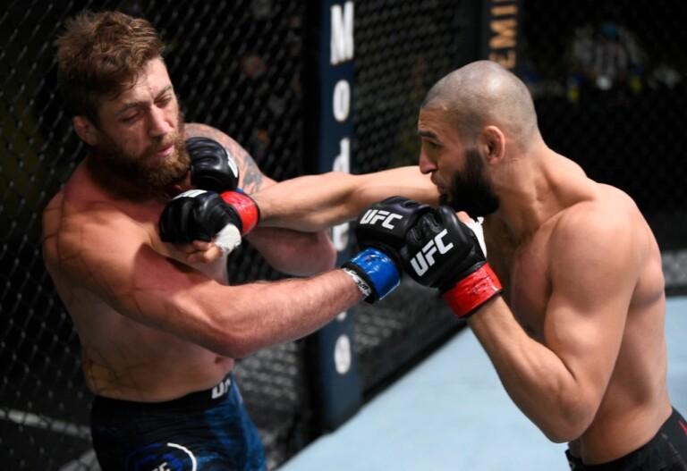 Khamzat Chimaev chỉ mất 17 giây để đánh bại Gerald Meerschaert tại UFC on ESPN+ 36.