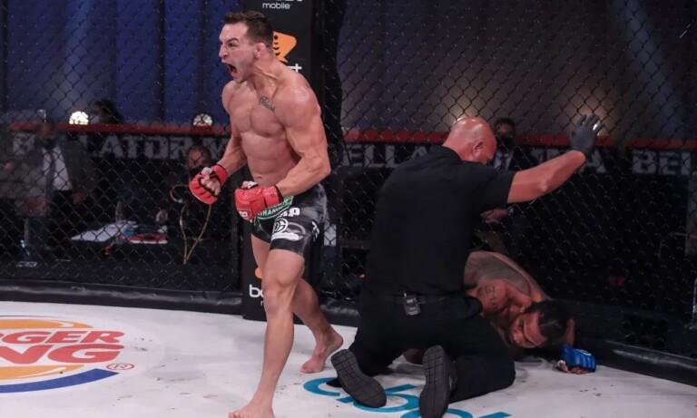 Michael Chandler trở thành võ sĩ tự do sau khi đánh bại Benson Henderson tại Bellator 243.