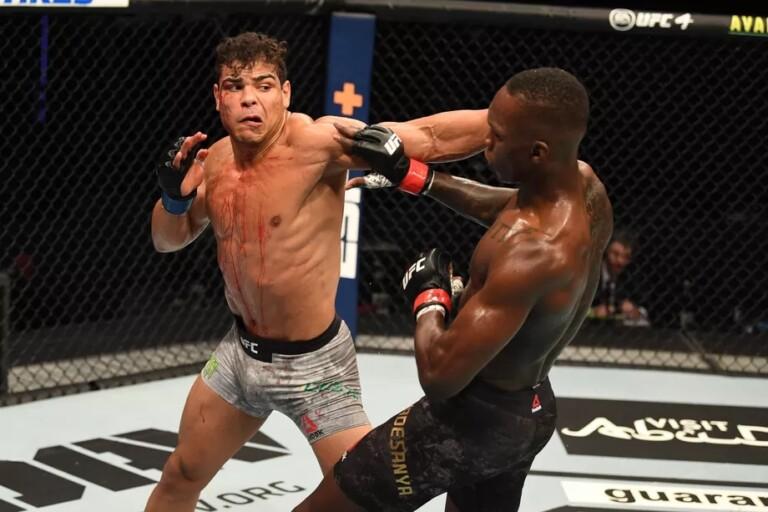 Paulo Costa không tạo ra nhiều uy hiếp cho Adesanya ở UFC 253.