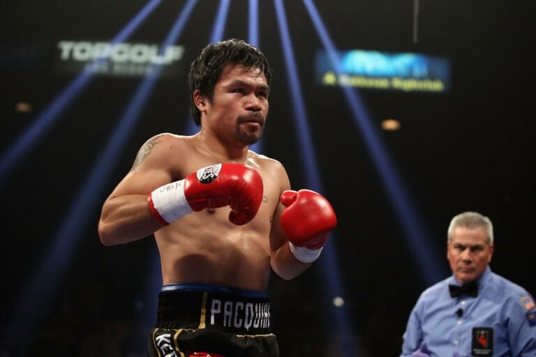 Manny Pacquiao là tay đấm đầu tiên vô địch thế giới ở 8 hạng cân khác nhau.