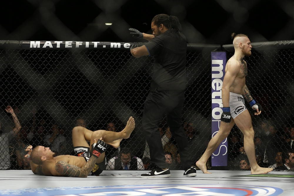 McGregor từng hạ knockout Dustin Poirier khi cả 2 gặp nhau tại UFC 178 vào năm 2014.