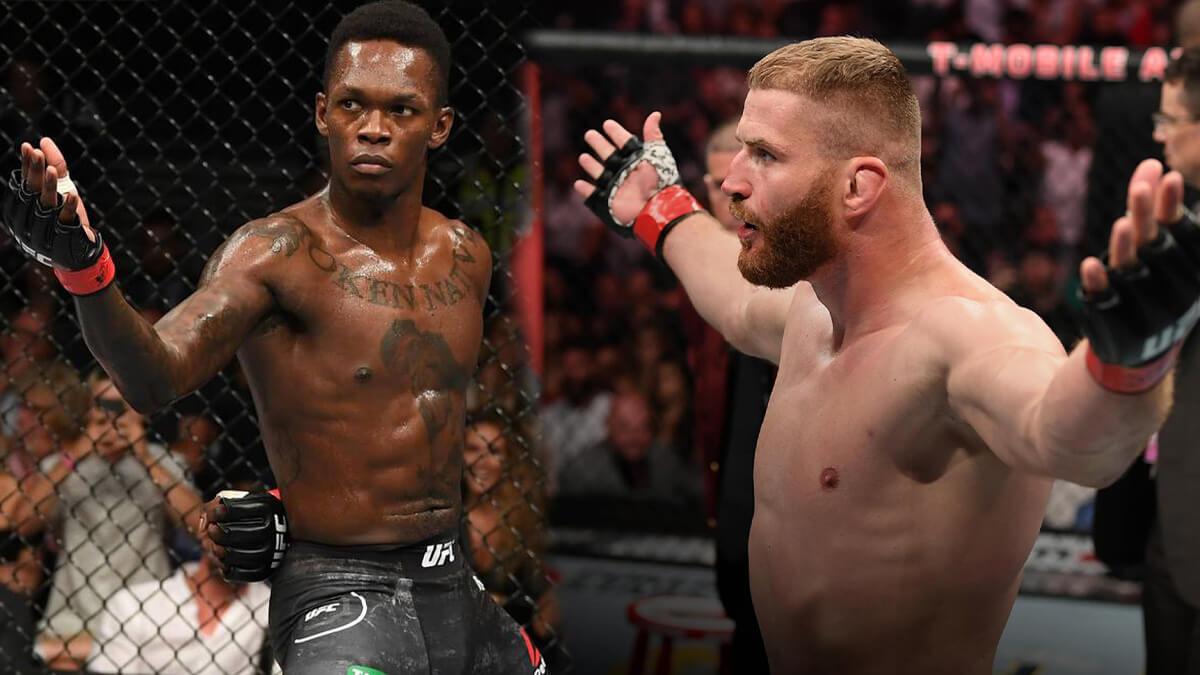 UFC trước đó đang thúc đẩy cuộc chiến giữa Israel Adesanya và Jan Blachowicz.