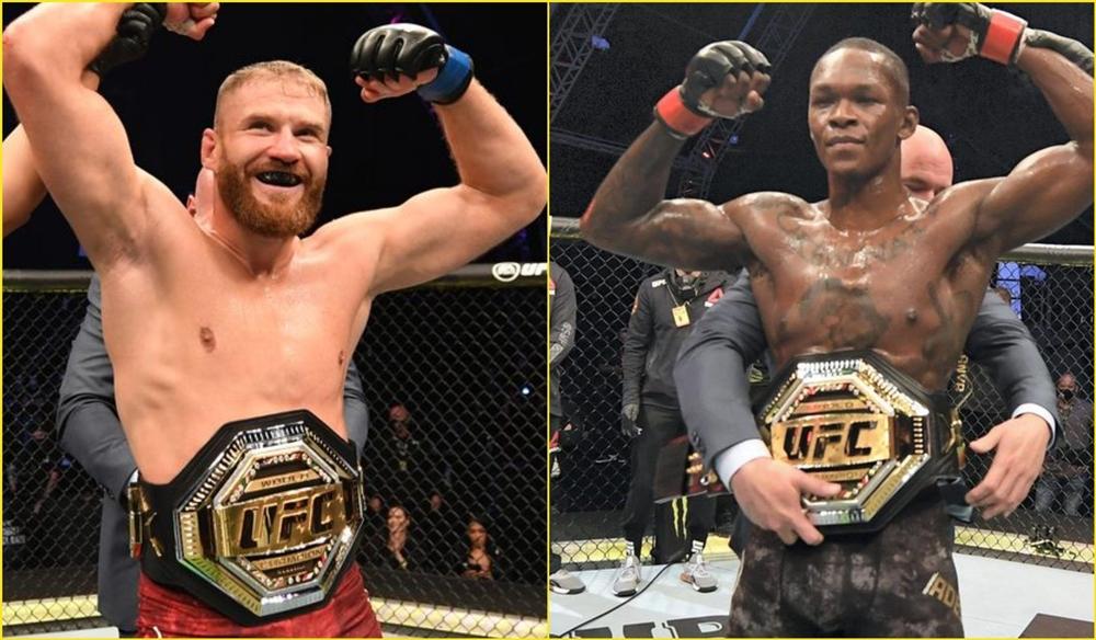 UFC đang thúc đẩy một cuộc chiến giữa Israel Adesanya và Jan Blachowicz.